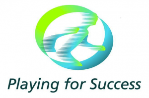 Playing-for-success logo